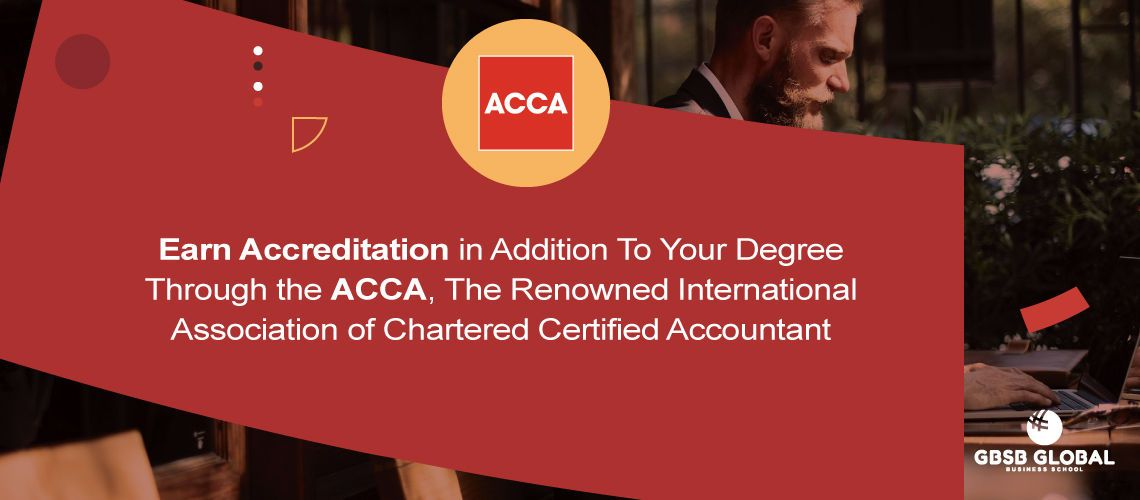 Earn Certification in addition to your degree through Microsoft and the ACCA