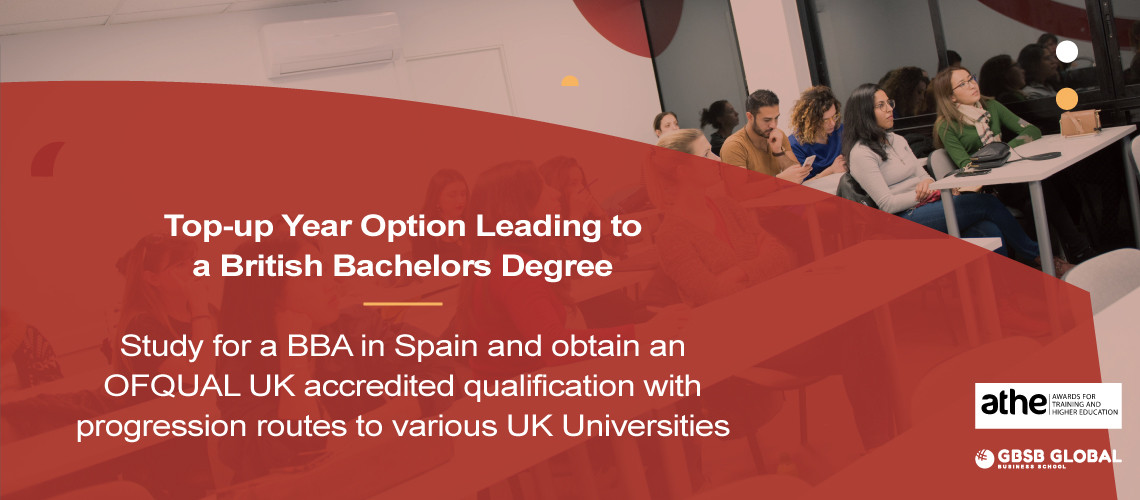 Study for a Bachelor in Business Administration and obtain an accredited qualification