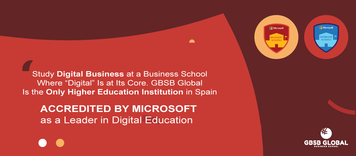 BBA in Digital Business Online accredited by Microsoft