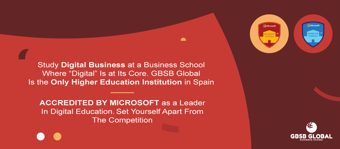 BBA in Finance in GBSB Global the only higher education institution in Spain accredited by Microsoft