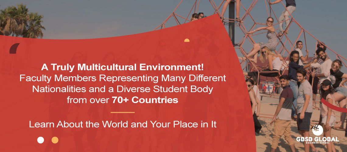 Bachelor in Management Online in a truly multicultural environment with 70 different nationalities