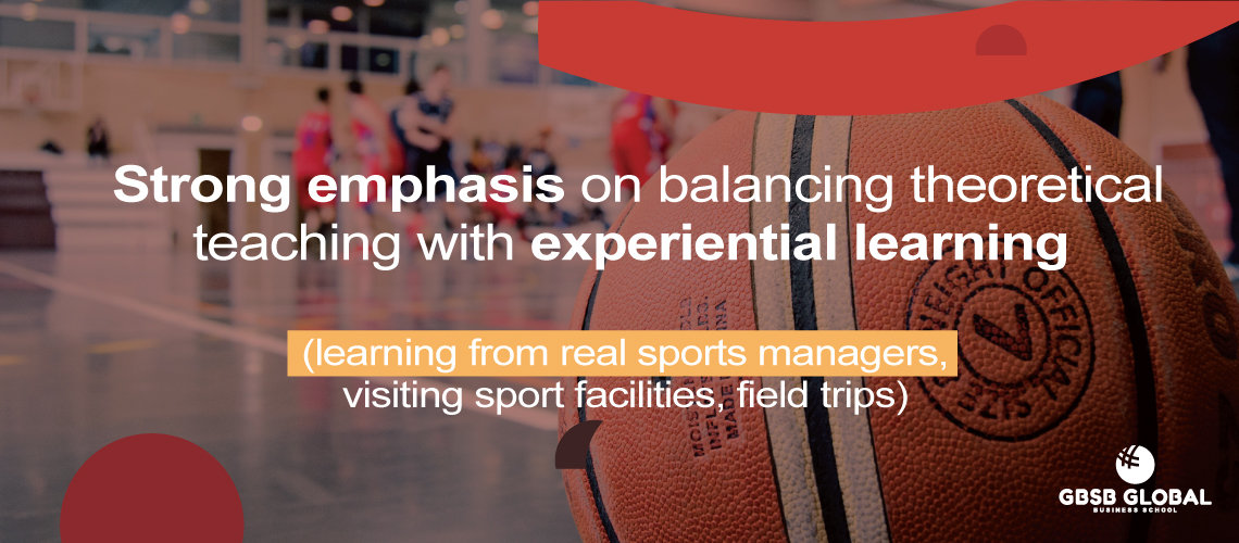 Study Sports Management from real sports managers, visiting sport facilities, field trips
