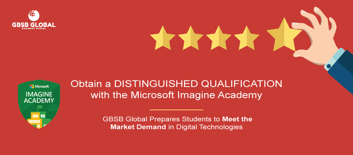 Obtain qualification Microsoft Imagine Academy with GBSB Global Business School Barcelona