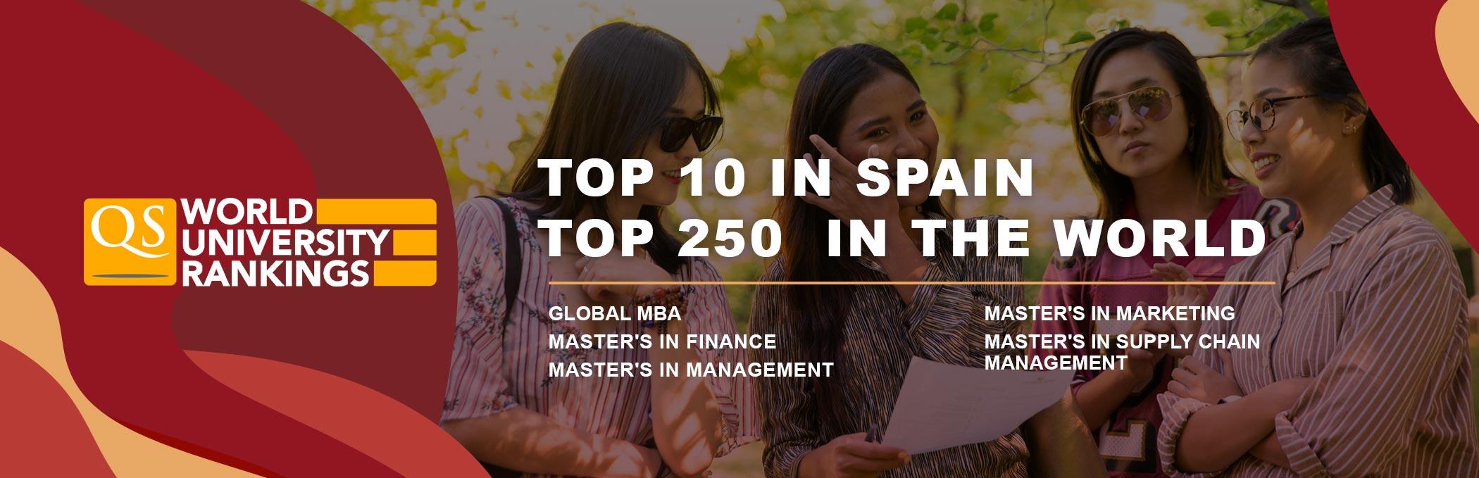 GBSB Global Business School in Europe University Rankings 2022