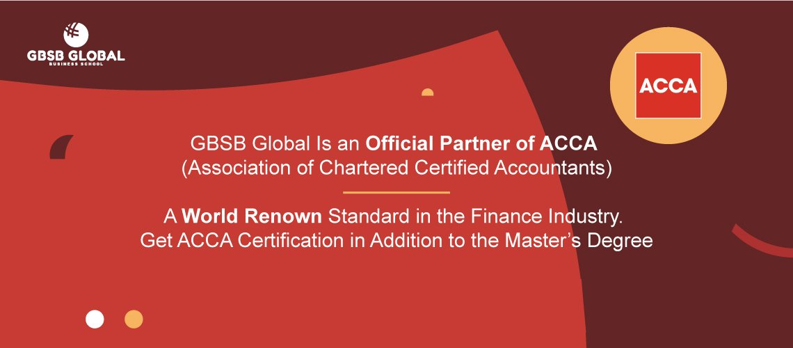 Get ACCA Certification on top of the Master in Digital Financial Management degree
