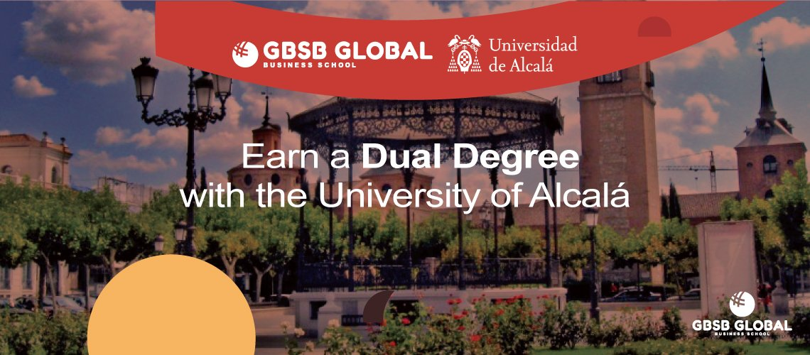 Earn a dual degree with the University of Alcala
