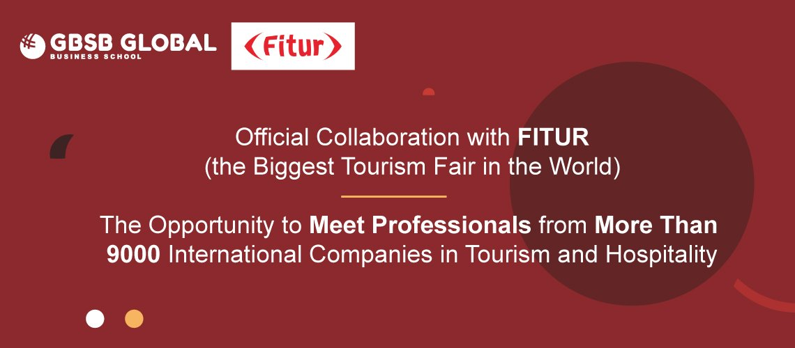 Official Collaboration with FITUR - the Biggest Tourism Fair in the World