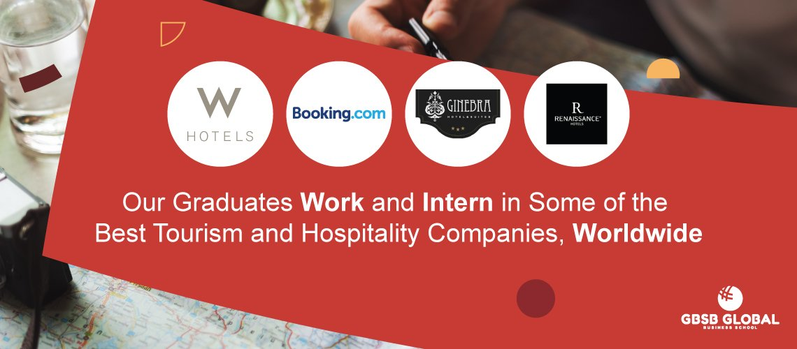 Our Graduates Work and Intern in Some of the Best Tourism and Hospitality Companies Worldwide