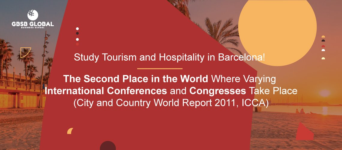 Study Tourism in Barcelona, second Place in the World of International Conferences and Congresses