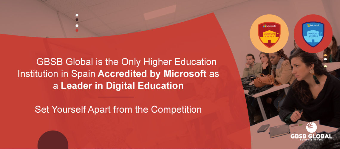 MBA Entrepreneurship in a Higher Education Institution in Spain Accredited by Microsoft