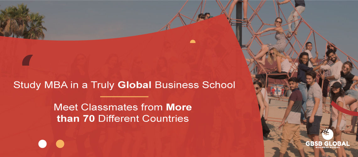 Study MBA in Finance in a truly global business school with students from 70 different countries