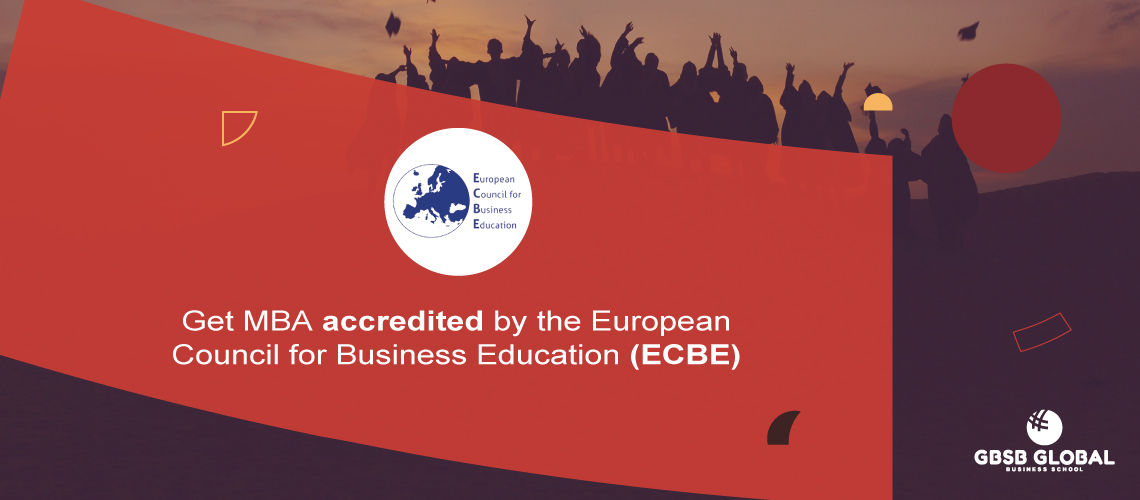 MBA in Marketing accredited by the European Council for Business Education