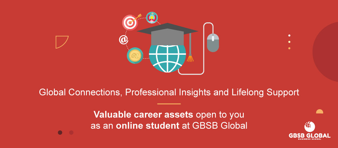 Valuable career assets open to you as an online student at GBSB Global