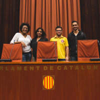 GBSB Global Gets an Insider's Tour to the Catalan Parliament