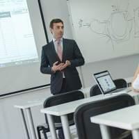 Daniel Gerardo Rodriguez Ruiz from Santander Bank Visits GBSB Global