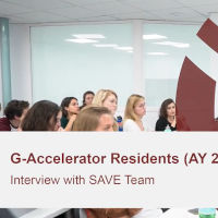 G-Accelerator SAVE Team Success Story
