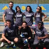 GBSB Global Business School Barcelona Football Team in Student Network Cup