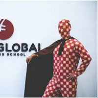 GBSB Global Business School superhero in Barcelona campus