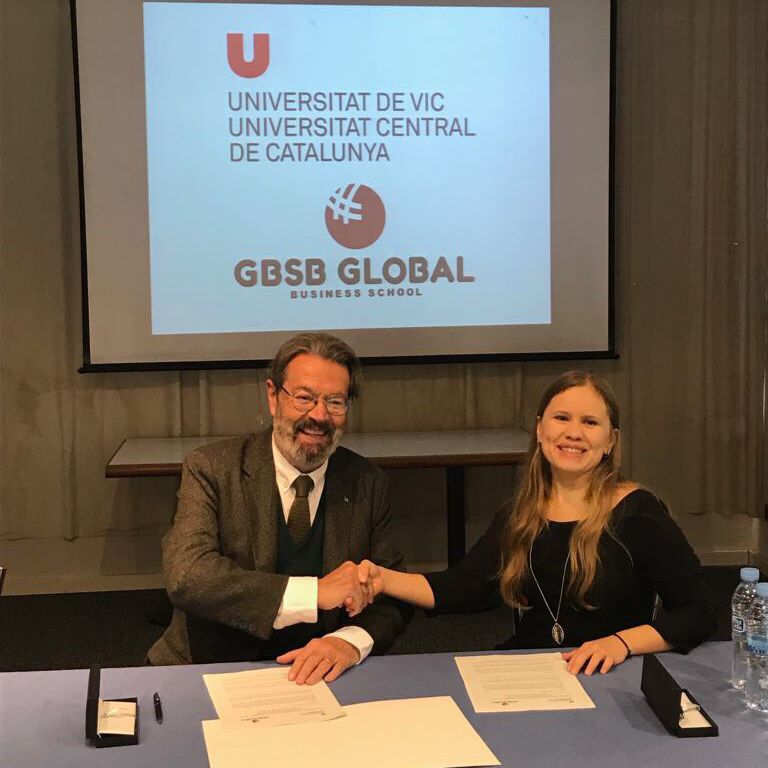 GBSB Global Business School and the University of VIC Signed a Strategic Collaboration Agreement