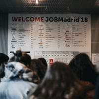 GBSB Global Business School Students from Madrid campus Attended JobMadrid