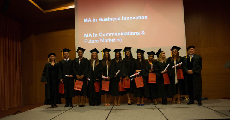 GBSB Global Business School Master in Communications and Business Innovation Students 2017