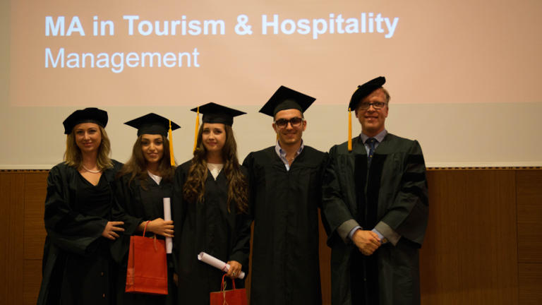GBSB Global Business School Master in Tourism Students 2017
