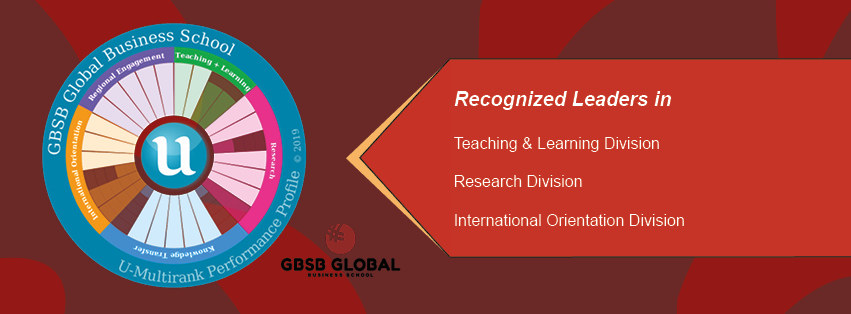 GBSB Global Business School received Top Scores in U-Multirank