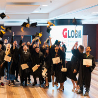 Master's Degree graduates at GBSB Global Business School Barcelona