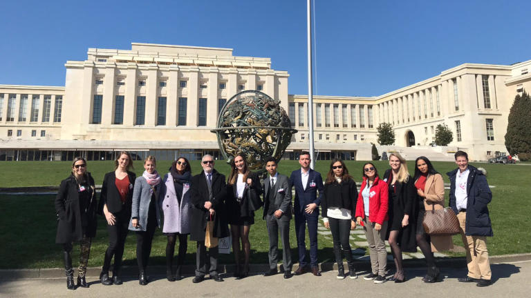 GBSB Global Business School Study Trip to United Nations
