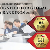 GBSB Global is recognized as Tier One for MBA Ranking and 6 for Online MBA by CEO Magazine
