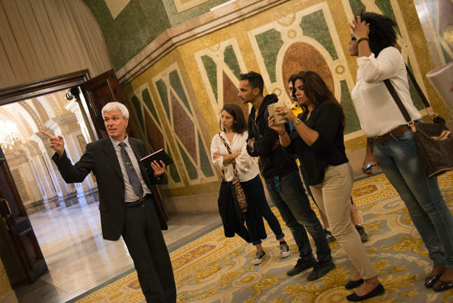 GBSB Global Tour to the Catalan Parliament guided visit