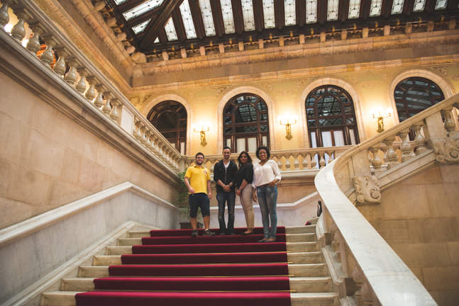 Catalan Parliament Stairs