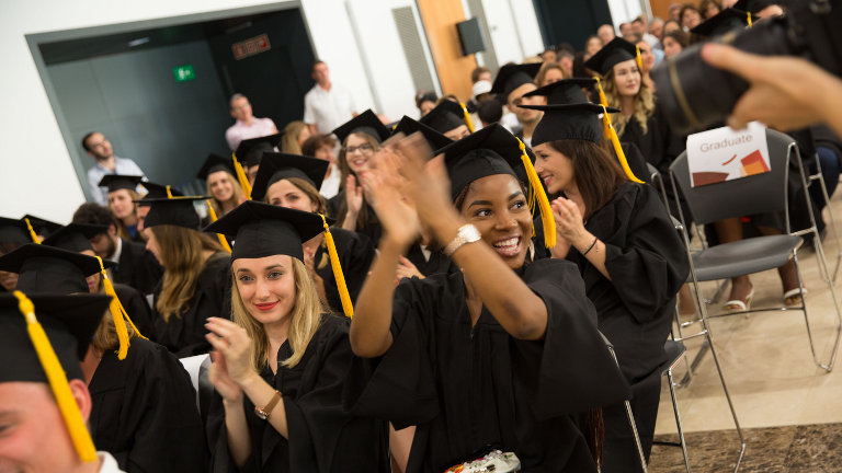 GBSB Global graduation ceremony 2018 students