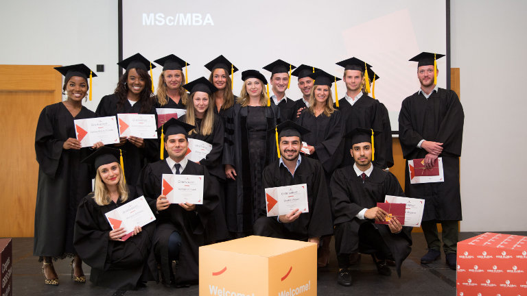 GBSB Global graduation ceremony 2018 MBA and MSc students