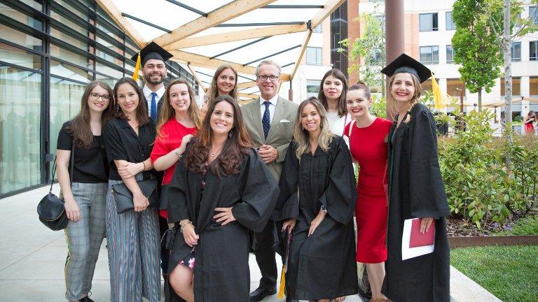 GBSB Global Business School graduation ceremony in Barcelona 2018 pictures