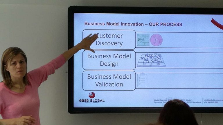GBSB Global Business Innovation Training classroom