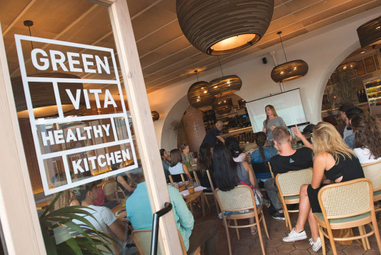 Green Vita Healthy Kitchen in the Diagonal Shopping Mall Barcelona