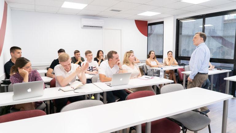 GBSB Global Summer School classroom