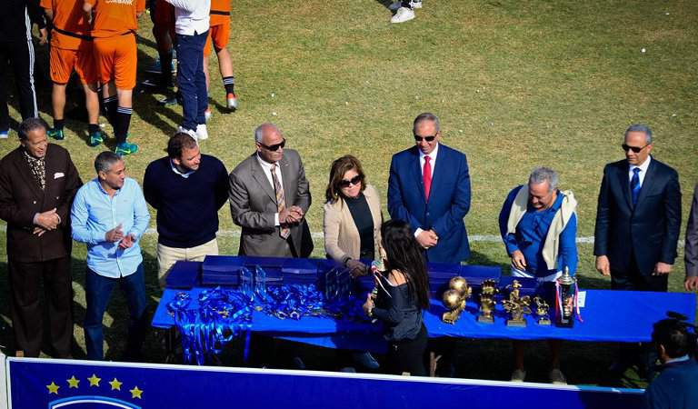 El Gouna Soccer Tournament is attended by Local Officials