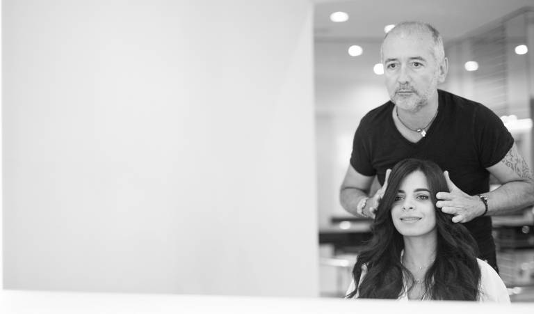 Philippe Venoux has 25 years of experience in the world of hairdressing, styling VIP clients