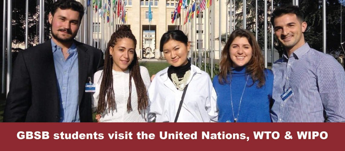 Global Business School Barcelona Study Trip to United Nations