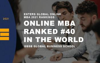GBSB Global Business School ranked 40th in the world by QS Top MBA