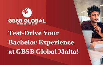 Test-Drive Your Bachelor at GBSB Global Business School