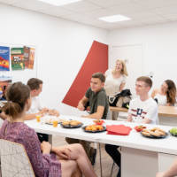 GBSB Global Business School welcome summer school students