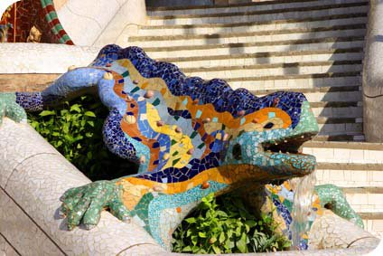 Study Abroad in Spain. Park Guell.
